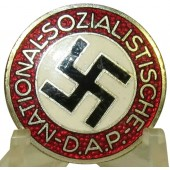 NSDAP Party Badge RZM M1/102 - Frank & Reif, Stuttgart