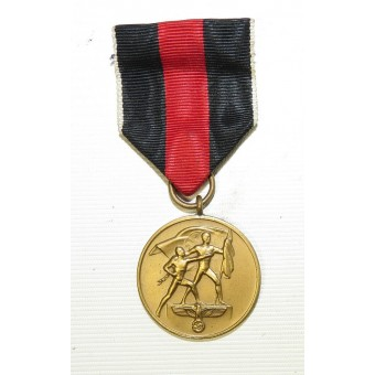 The 1 October 1938 Commemorative Medal,  Medaille zur Erinnerung an den 1. Oktober 1938. Espenlaub militaria