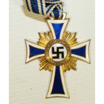 The Cross of Honour of the German Mother. 3rd Reich Mother Cross. Gold class