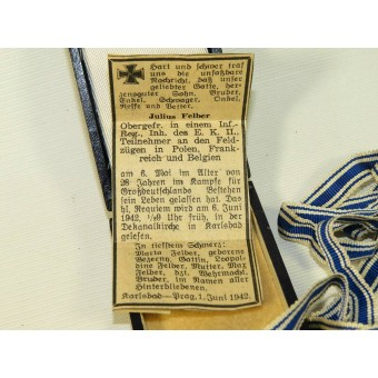 The Cross of Honour of the German Mother. 3rd Reich Mother Cross. Gold class. Espenlaub militaria