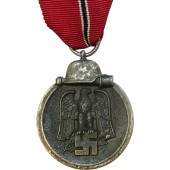 "The Eastern Front Medal, Winterschlacht im Osten 1941-42, marked ""19""."