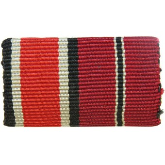 The Iron Cross 2 class and the Eastern Front Medal ribbon bar.. Espenlaub militaria