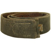 Wehrmacht, Luftwaffe or SS leather belt, 1942.