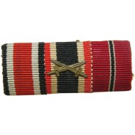Wehrmacht or SS Eastern Campaign participant ribbon bar.