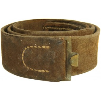 WWI war-time leather waist belt, 1914.. Espenlaub militaria