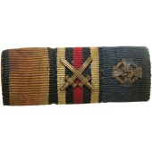 WWI and WWII German ribbon bar