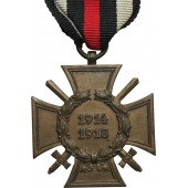 Commemorative cross for WW1 for combatant