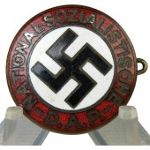 Early NSDAP badge, GES. GESCH