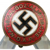 Early NSDAP member badge, GES. GESCH