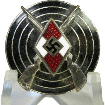 Hitlerjugend shooting badge by Bayerisches Hauptmünzamt. Espenlaub militaria