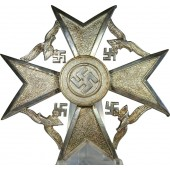 Spanian cross in silver without swords