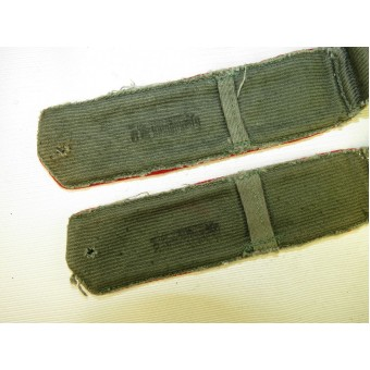 M 43 Soviet shoulder straps for  for medical and justice personal. Espenlaub militaria