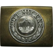 "WW1 enlisted men Prussian ""Gott mit uns"" belt buckle"
