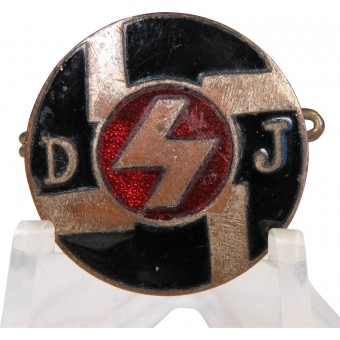 Very early 3rd reich DJ badge GES. GESCH
