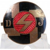 Deutsche Jungvolk member badge, marked GES. GESCH