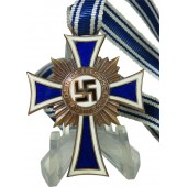 German mother medal- bronze class on the ribbon