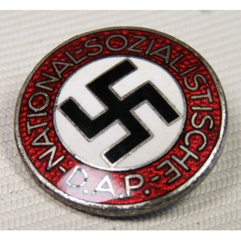 Gustav Brehmer М1 /101 NSDAP party badge. Espenlaub militaria