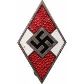 М1 /93 Hitlerjugend member badge Gottlieb Friedrich Keck