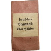 West wall bag of issue - Deutsches Schutzwall