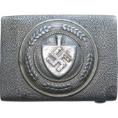 German 3rd Reich RAD aluminum buckle by Overhoff