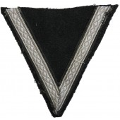 Waffen SS early rank chevron for SS-Sturmmann