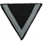 Waffen SS mid-war made rank chevron for SS-Sturmmann