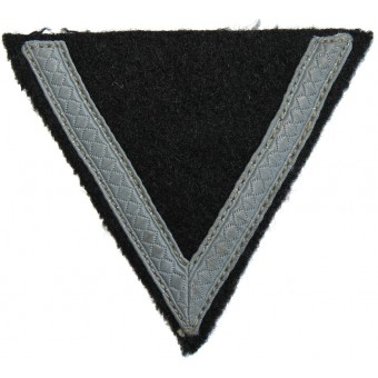 Waffen SS mid-war made rank chevron for SS-Sturmmann. Espenlaub militaria