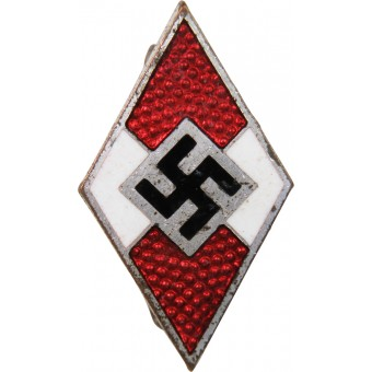 M 1/90 RZM HJ member badge made by manufacture of Apreck & Vrage. Espenlaub militaria