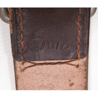 N.S.D.A.P. brown belt for leaders, RZM marked.. Espenlaub militaria