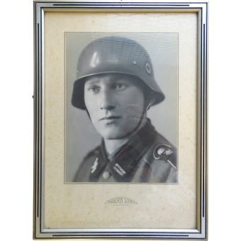 Photo of the SS - Rottenführer of the 11 Kp of the Leibstandarte SS Adolf Hitler. Espenlaub militaria