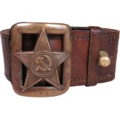 Red Army M 35 command crew leather belt