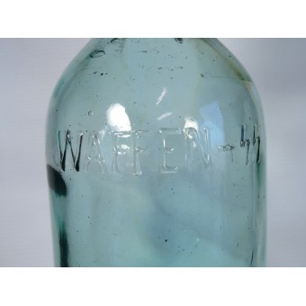 Waffen SS Sparkling water bottle with the inscription - WAFFEN-SS. Espenlaub militaria