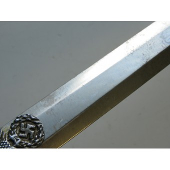 Wehrmacht officers dagger completed original with knot and hanger, E&F Hörster Solingen.. Espenlaub militaria