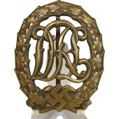 DRL sport badge 3rd class - bronze by Wernstein, Jena
