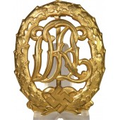 First class DRL Sport Badge in Gold by Wernstein Jena
