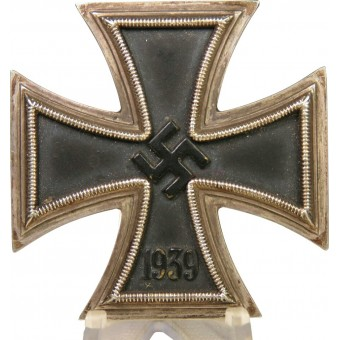 Iron Cross First Class 1939 RS -  Rudolf Souval Wien. Espenlaub militaria
