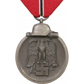 """Medal """"For the Winter Battle  on the Eastern Front"""", marked  """"15"""" Friedrich Orth."""