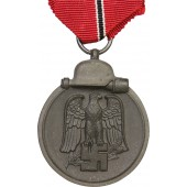 "Medal ""Winterschlacht im Osten 1941-42 years""  by Gustav Brehmer , marked ""13""."