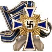 Mutterkreuz 1938 in Gold. Honorary cross of the German mother