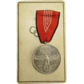 The 1936 Olympic Games in Berlin medal, in the original box of issue