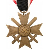 "War Merit Cross 1939 - ""18"": Karl Wurster K.G. Markneukirchen"