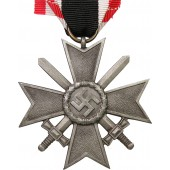 "War Merit Cross 1939 2 Class with swords. ""5""  for Hermann Wernstein"