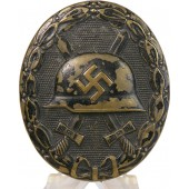 Wound badge 1939 in Black Übergroße type Deschler.