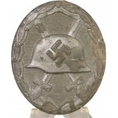 "Wound badge in silver 1939,  ""30"" - Hauptmünzamt. Zinc."