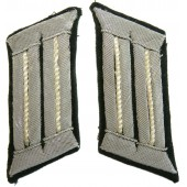 Heer Infantry officers collar tabs, tunic removed