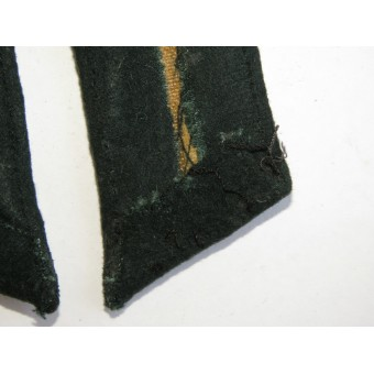 Heer Infantry officers collar tabs, tunic removed. Espenlaub militaria