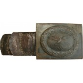 Iron buckle for the enlisted men of the Luftwaffe. Dransfeld & Co 1941
