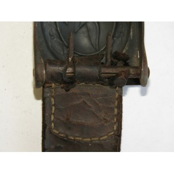 Iron buckle for the enlisted men of the Luftwaffe. Dransfeld & Co 1941. Espenlaub militaria