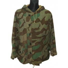Wehrmacht Heer or Luftwaffe cold-weather parka in Splittertarn camouflage