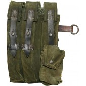 Right side canvas pouch for the mp-40 submachine gun